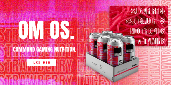 Abut Us. Command Gaming Nutrition. Learn More.