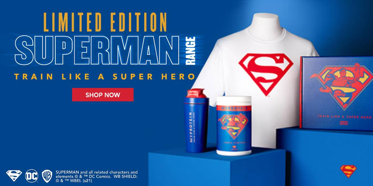 Superman x Myprotein