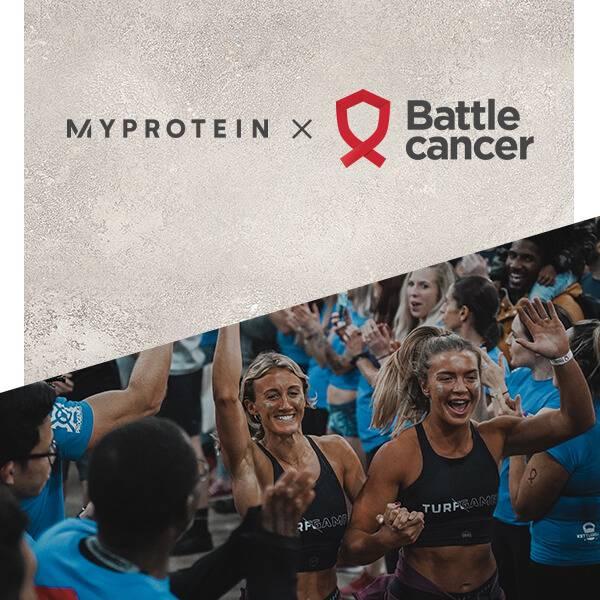 Myprotein x Battle Cancer