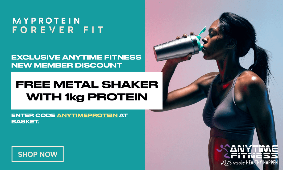 Anytime Fitness x Myprotein