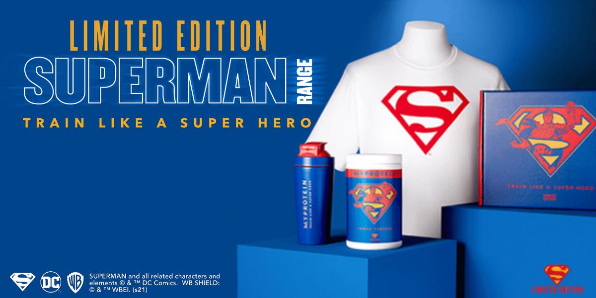 Myprotein x Superman