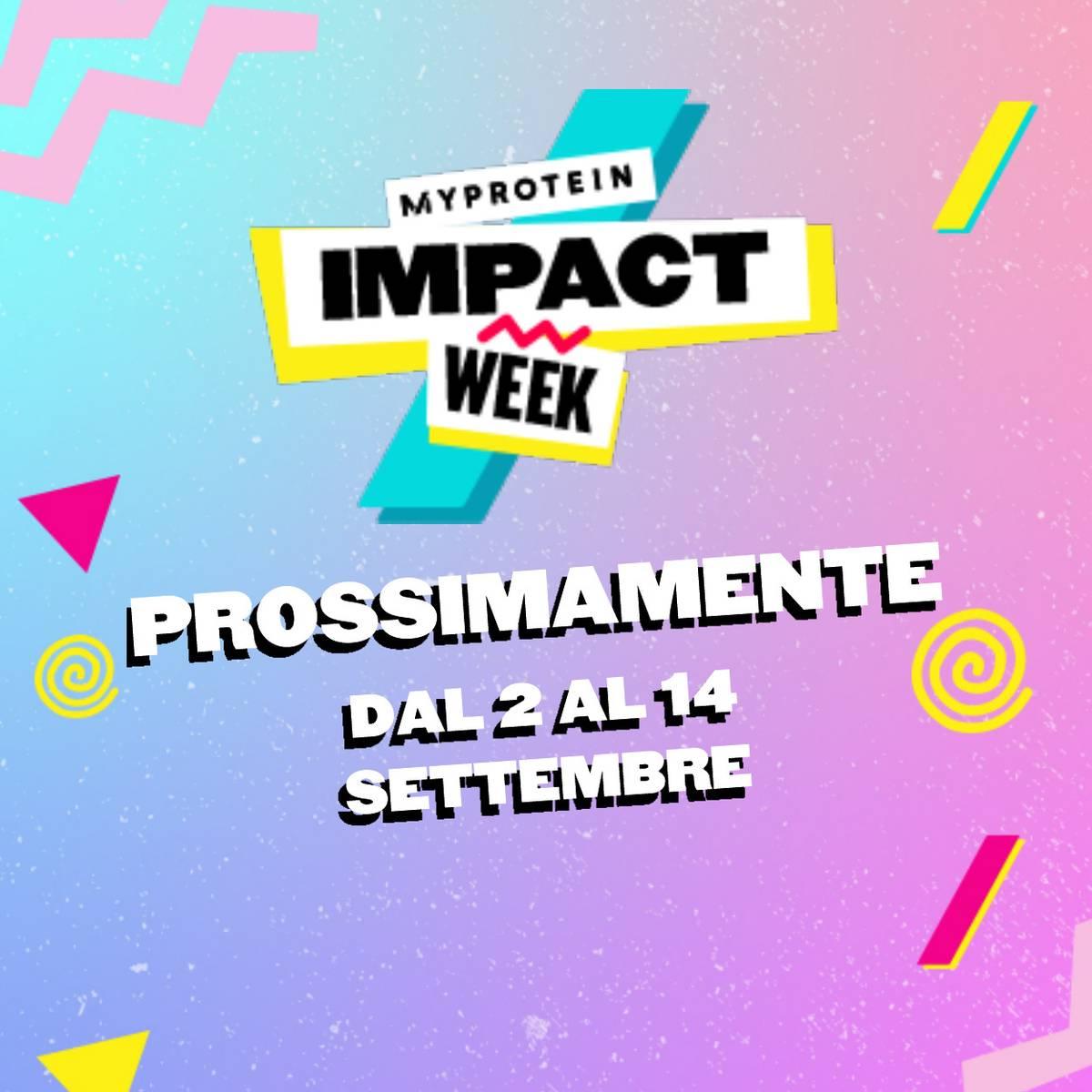 Myprotein x Impact Week