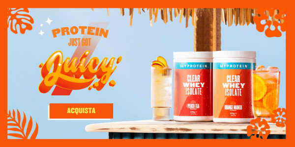 Myprotein Clear Whey Sign Up