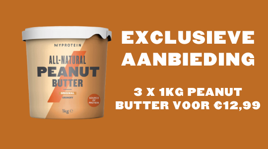 Peanut Butter Exclusieve Deal