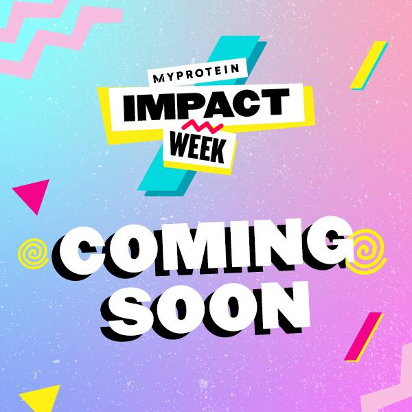 Myprotein Impact Week Sign Up