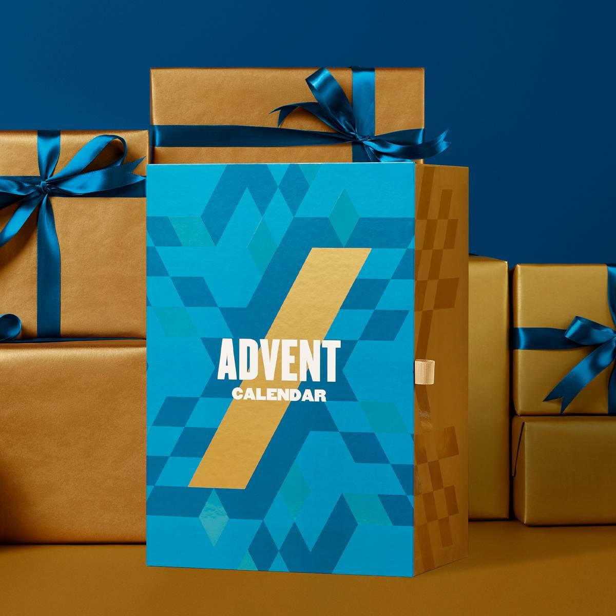 Новогодняя коробка с сюрпризами от Myprotein.