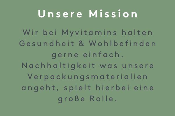 Lass uns über Plastik reden - Unsere Mission I Myvitamins