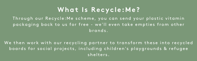 What is Recycle:Me I Myvitamins