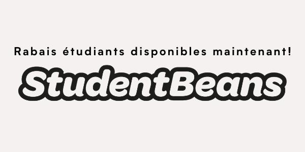 student beans - rabais étudiants disponibles maintenant