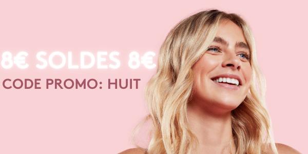 8€ SOLDES CODE PROMO: HUIT