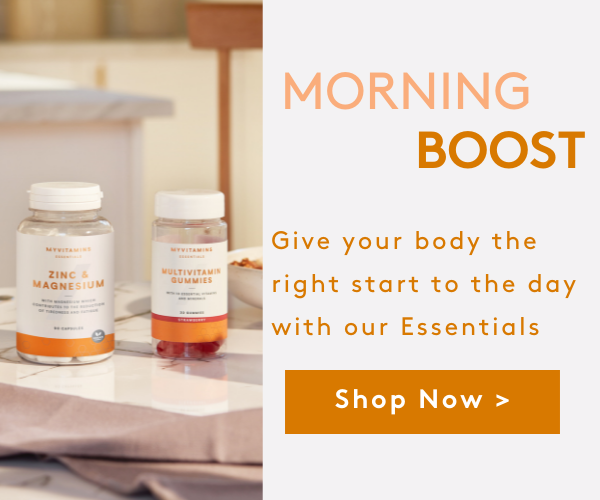 Give yourself a morning boost with our immunity products I Myvitamins
