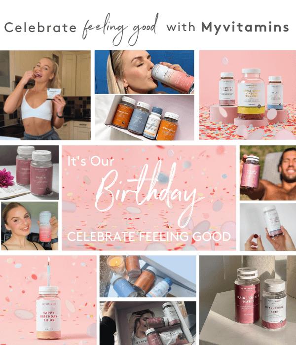 9th Birthday  I Myvitamins