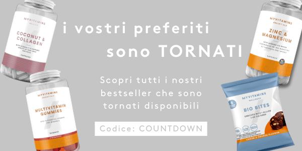 I vostri preferiti sono TORNATI | Codice: COUNTDOWN