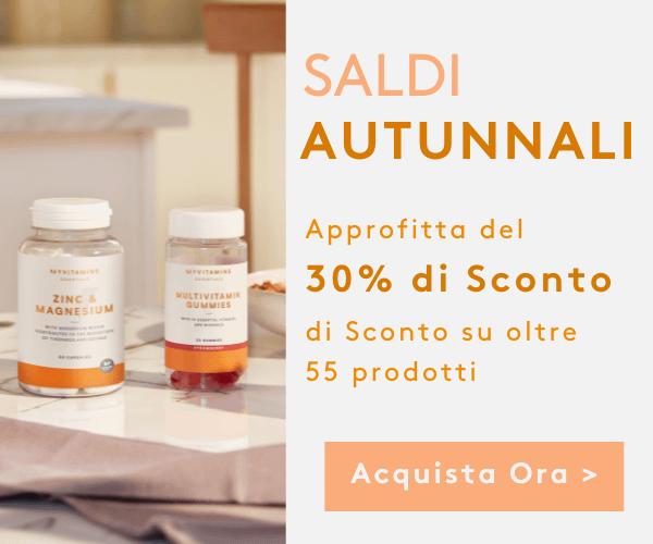 Saldi al 30% su oltre 60 prodotti | Myvitamins Italia