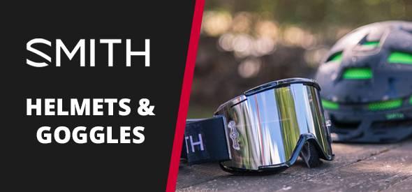 Smith helmets & Goggles