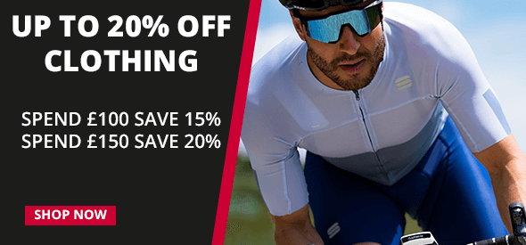 Up to 20% off clothing