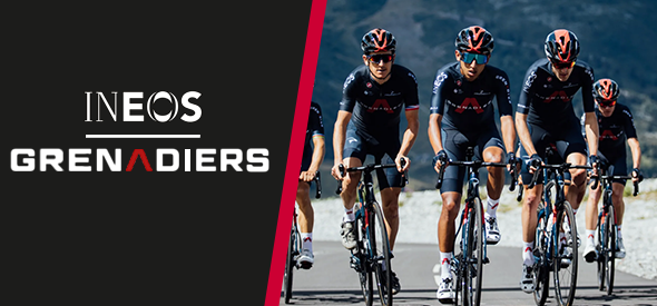 Team Ineos Grenadiers kit by Castelli