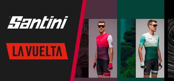 Santini La Vuelta Clothing