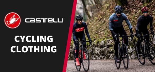Castelli cycling clothing