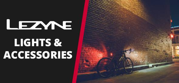 Lezyne lights and accessories