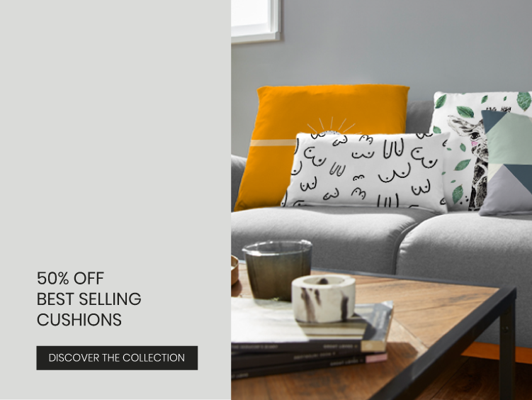 50% Off Best-Selling Cushions