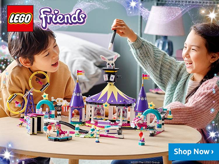 LEGO Friends Main Banner