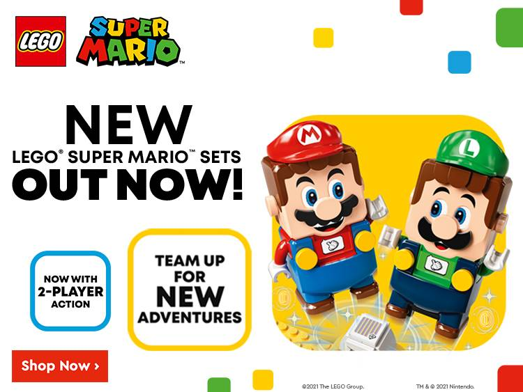 NEW LEGO SUPER MARIO SETS OUT NOW!