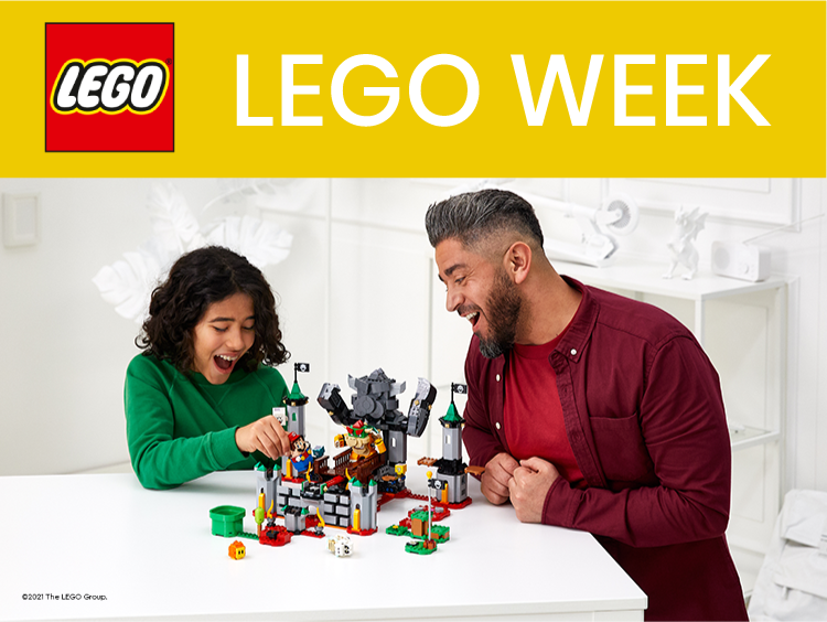 LEGO WEEK Main Banner