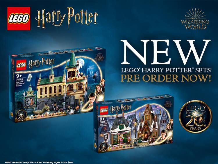 LEGO HARRY POTTER PRE-ORDER MAIN BANNER