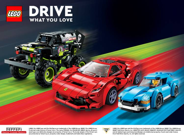 LEGO DRIVE WHAT YOU LOVE MAIN BANNER