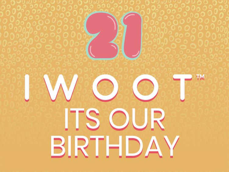 IWOOT Birthday Main Banner