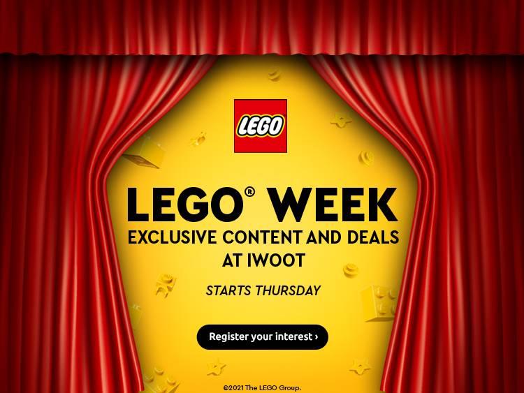 LEGO® WEEK PRE-AWARENESS