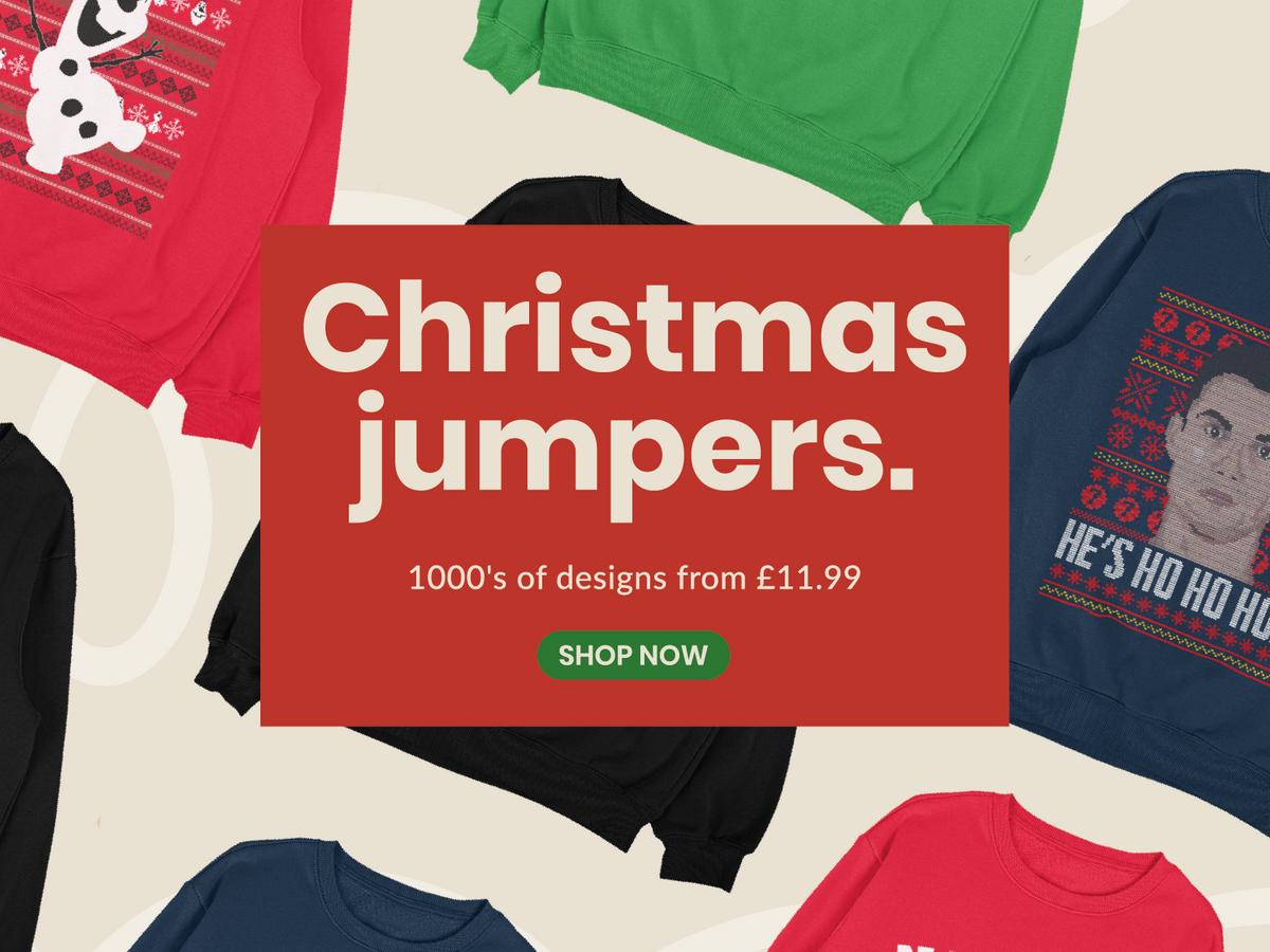 IWOOT Christmas Jumpers Main Banner