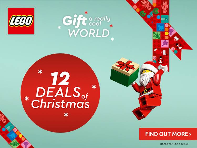 12 DAYS OF CHRISTMAS LEGO