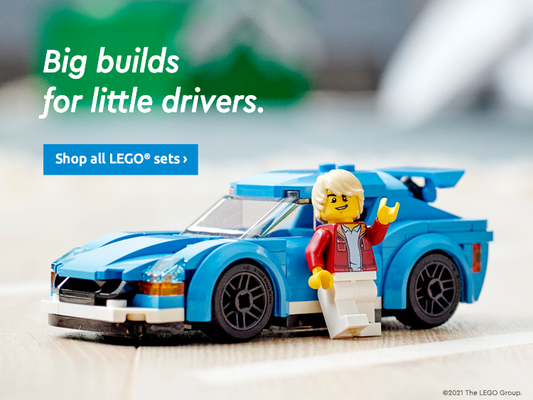 LEGO DRIVE WHAT YOU LOVE MID BANNER