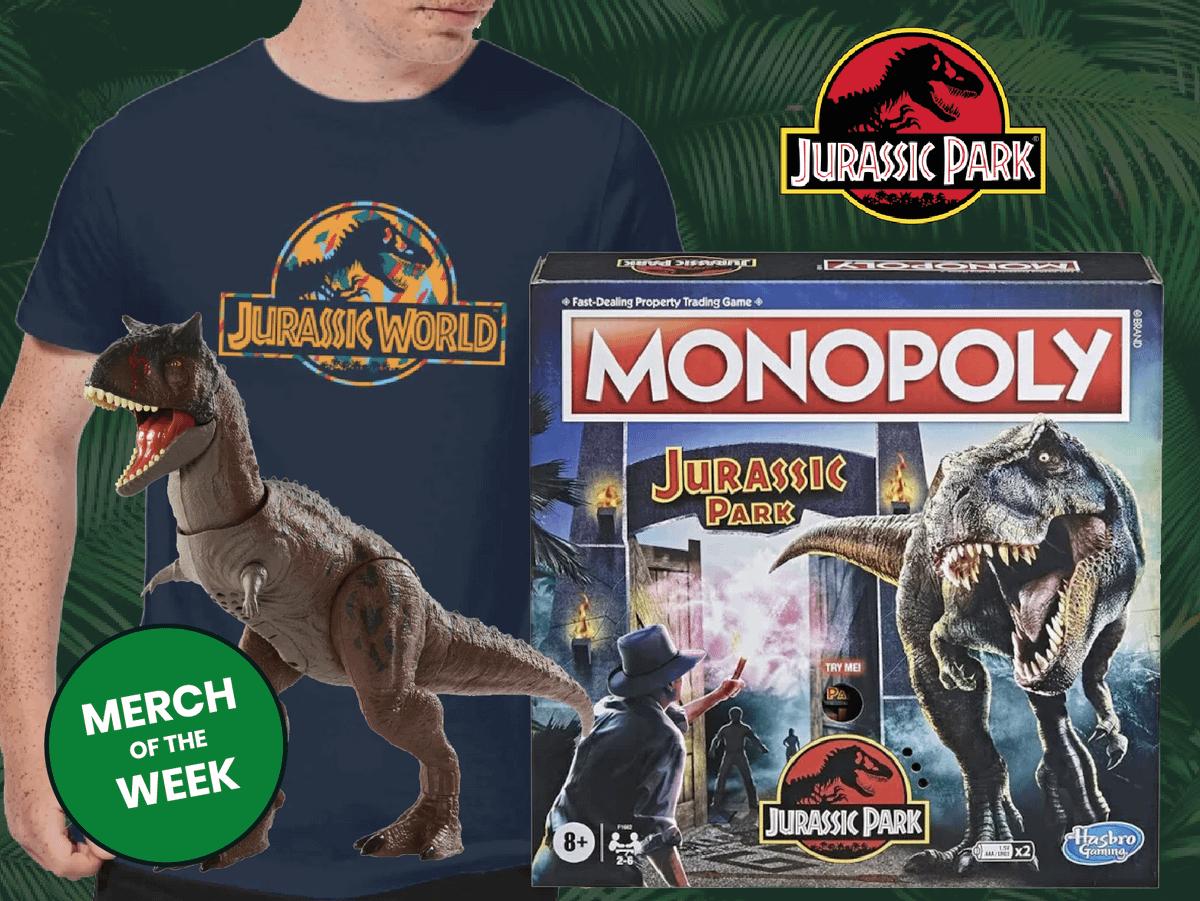 Jurassic Park Week Main Banner