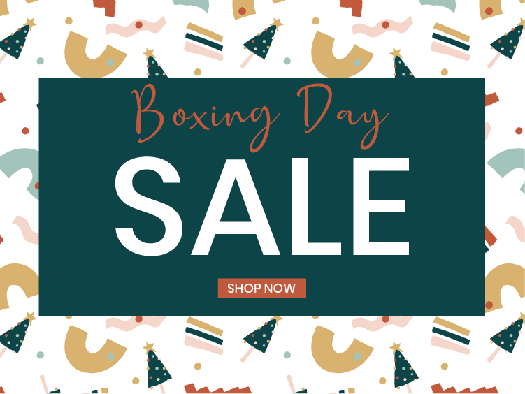 BOXING DAY SALE - NOW LIVE