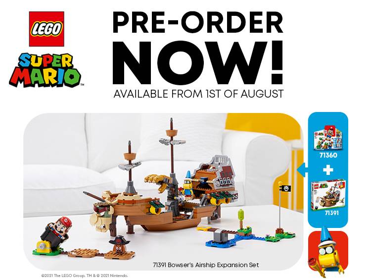 LEGO® SUPER MARIO BOWSER AIRSHIP