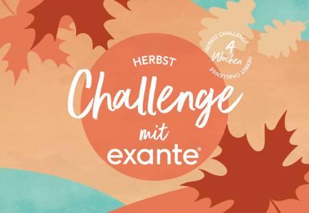 Herbst Abnehm Challenge mit exante
