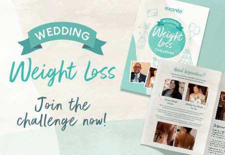 Join the exante Wedding Weight Loss Challenge now!