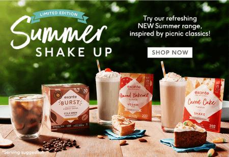 exante NEW summer shakes