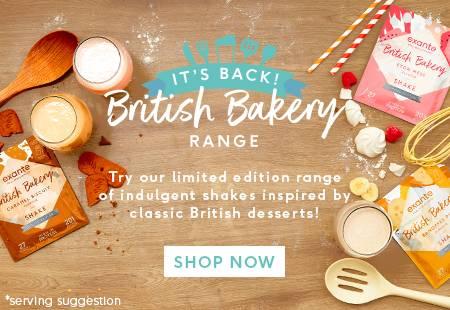 British Bakery range
