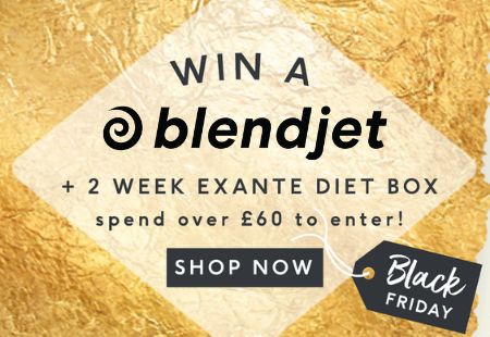 Win a BlendJet + 2 Week exante diet box spend over £60 to enter!