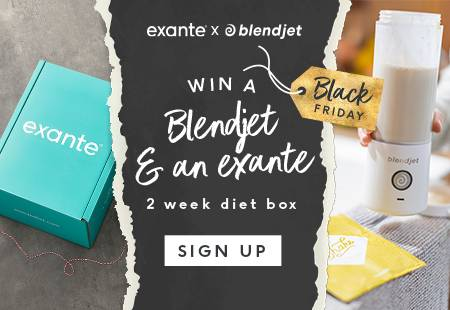 Win a Blendjet & an exante 2 week diet box