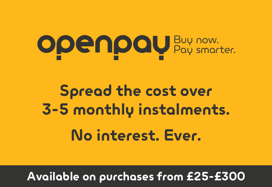 Openpay buy now pay smarter Spread the cost over 3-4 monthly instalments. No interest. Ever