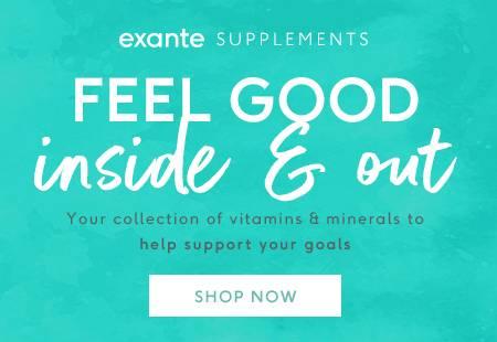 exante supplements 'shop now'