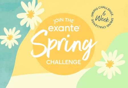 Join the exante 6 week Spring Challenge