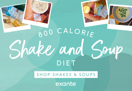 800 Calorie Shake and Soup Diet 'SHOP SHAKES & SOUPS'