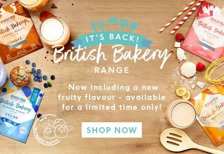 British Bakery Range - Blueberry Muffin