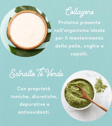 Collagene e Tè Verde Burst exante